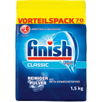 Порошок для мытья посуды в посудомоечной машине finish, 1,5 kg (Германия)