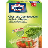Пакеты для Овощей и Фруктов Toppits, 7 шт. (Германия)