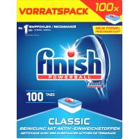Таблетки для посудомоечных машин Классические finish, 100 шт. (Германия)