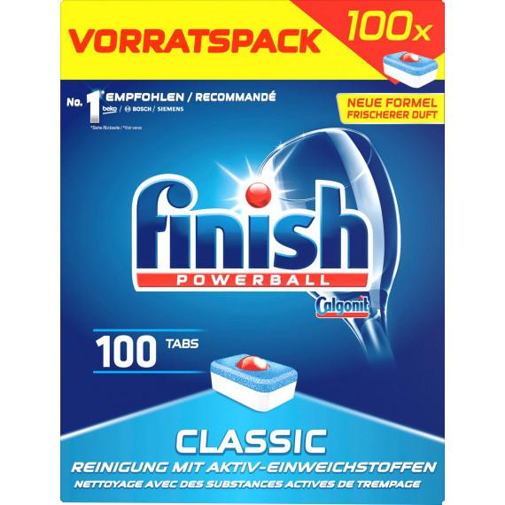 Таблетки для посудомоечных машин Классические finish, 100 шт. (Германия) -
