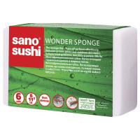 Губка для мытья без моющих средств Sano, 6 шт
