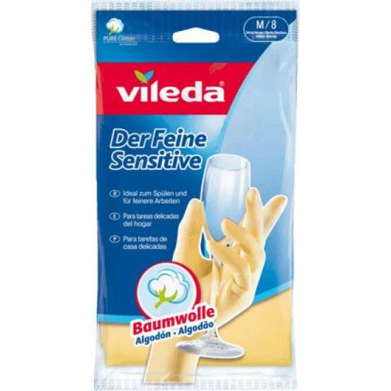 Перчатки кухонные размер М Vileda, 1 St (Германия) -