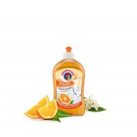 Средство для мытья посуды Апельсин, 500 ml