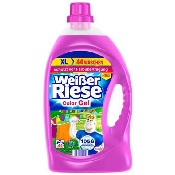 Гель для стирки цветных вещей Weißer Riese, 2,5 л. (Германия) -