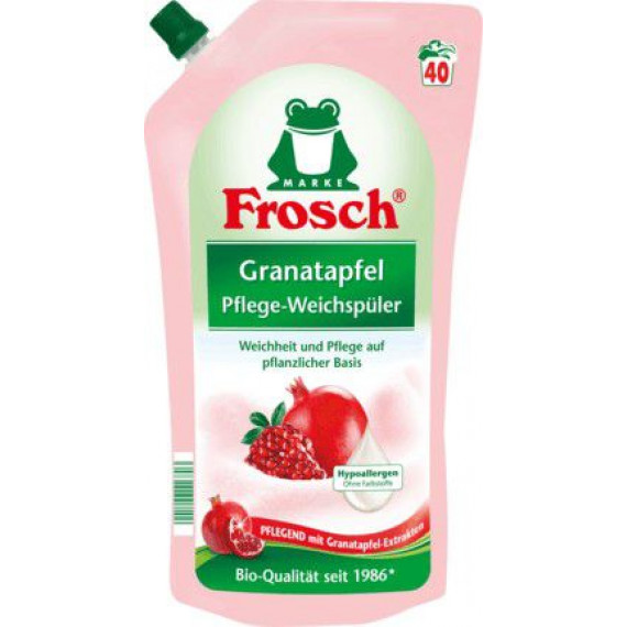 Ополаскиватель для белья Гранат Frosch, 1 l (Германия) -
