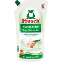 Ополаскиватель для белья с миндальным молочком Frosch, 1 l (Германия)