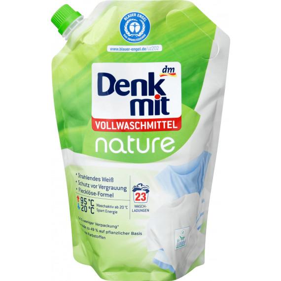 Гель для стирки белых вещей Denkmit nature, 1,265 л. (Германия) -