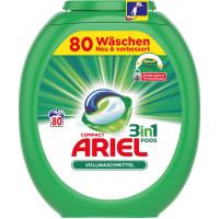 Капсулы для стирки Ariel, 80 шт (Германия)