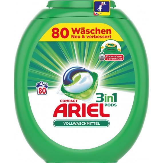 Капсулы для стирки Ariel, 80 шт (Германия) -