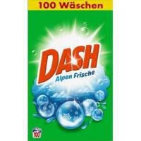 Порошок для стирки универсальный Альпийская свежесть Dash, 6,5 кг. (Германия)