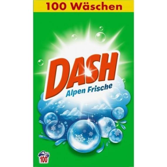 Порошок для стирки универсальный Альпийская свежесть Dash, 6,5 кг. (Германия) -