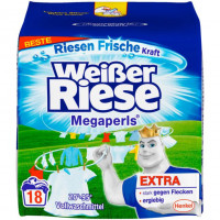Универсальный стиральный порошок з микрогранулами Weißer Riese, 18 стирок (Германия)