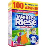 Порошок для стирки цветных вещей Weißer Riese, 5,5 кг. (Германия)