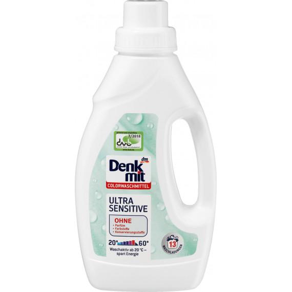 Жидкий порошок для цветных детских вещей Denkmit, 0.75 л. (Германия) -