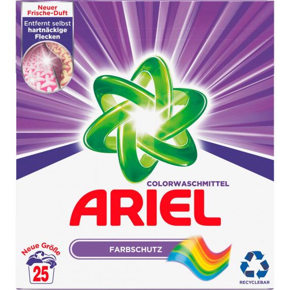 Порошок для стирки цветных вещей ARIEL, 25 Wl (Германия) -