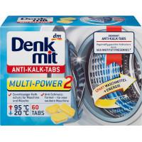 Таблетки для пральних машин проти кальку Denkmit, 60 St (Німеччина)
