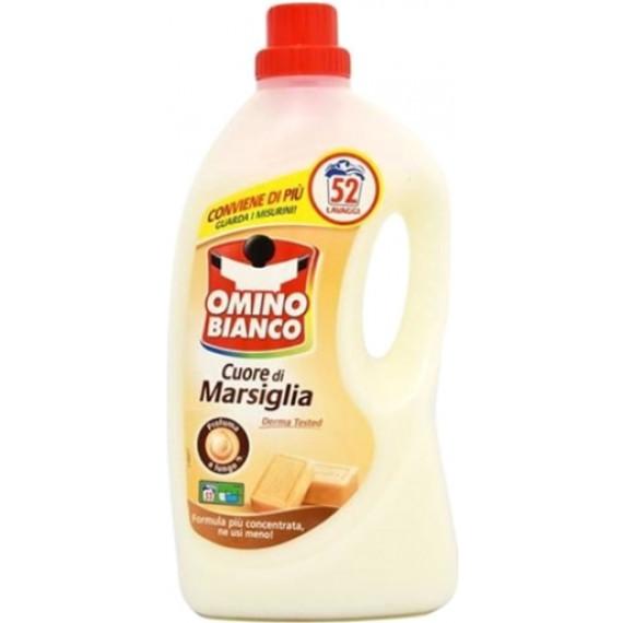 Гель для стирки Марсельское Мыло Omino Bianco, 52 Wl -