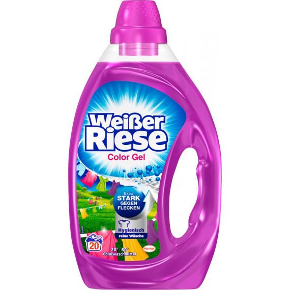Гель для прання кольорових речей Weißer Riese, 20 Wl (Німеччина) -