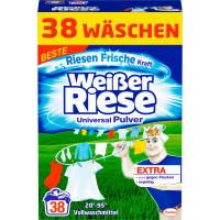 Универсальный стиральный порошок Weißer Riese, 38 стирки (Германия)