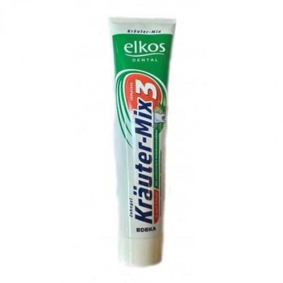 Зубная паста с натуральными травяными экстрактами Elkos , 125ml (Германия) -