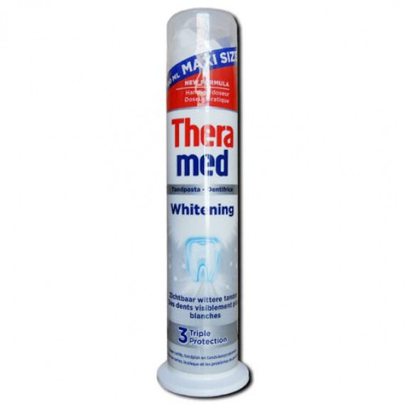 Зубная паста отбеливающая TheraMed, 100ml (Германия) -