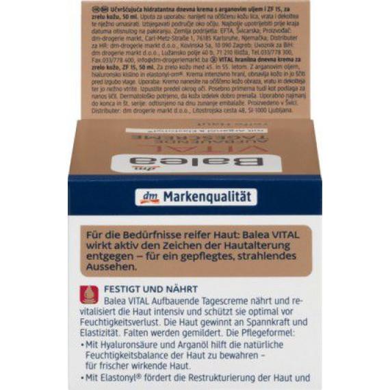 Дневной крем дневной уход VITAL Balea, 50 ml (Германия) -