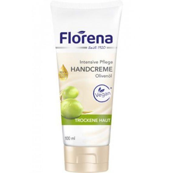 Крем для рук с оливковым маслом Florena, 100 ml (Германия) -