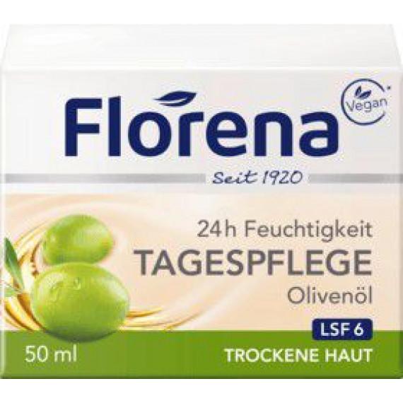 Дневной крем Оливковое масло Florena, 50 ml (Германия) -