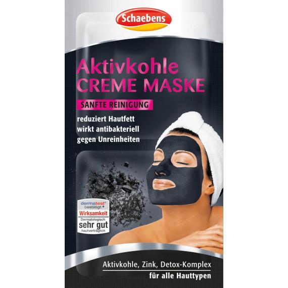 Крем маска с активированным углем Schaebens, 16 ml (Германия) -