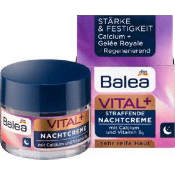 Интенсивный ночной крем Витал + Balea, 50 ml (Германия) -