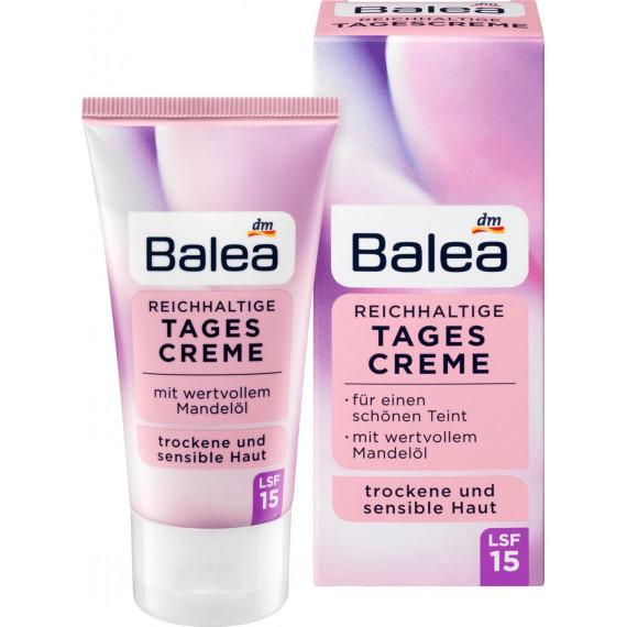 Дневной крем для сухой кожи Balea, 50 мл (Германия) -