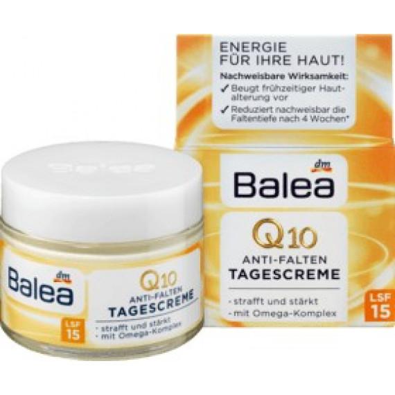 Денний крем Q10 + Омега (45 +) Balea,  50 мл. (Німеччина) -