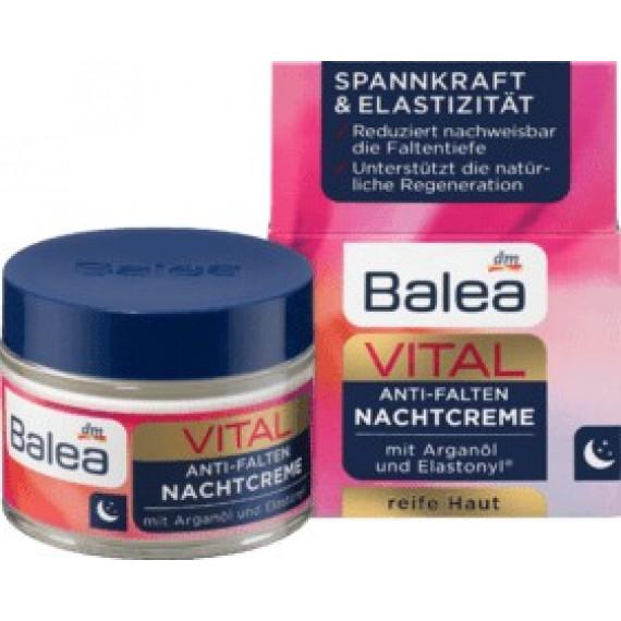 Відновлюючий нічний крем VITAL Balea, 50 ml (Німеччина) -