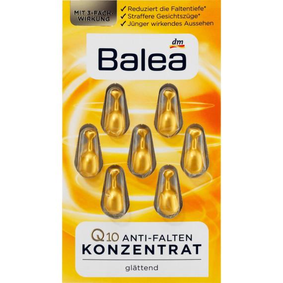 Концентрат Q10 против морщин Balea, 7 шт. (Германия) -