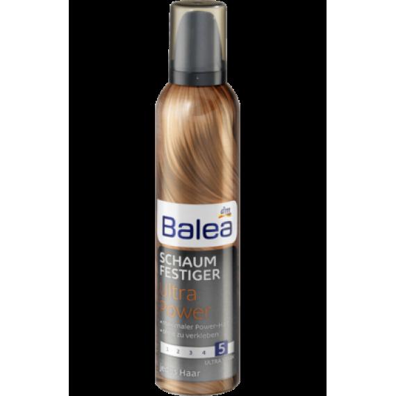 Пенка для волос ультра сила Balea, 250 ml (Германия) -