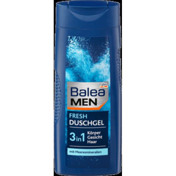 Гель для душа мужской освежающий Balea MEN, 300ml (Германия) -