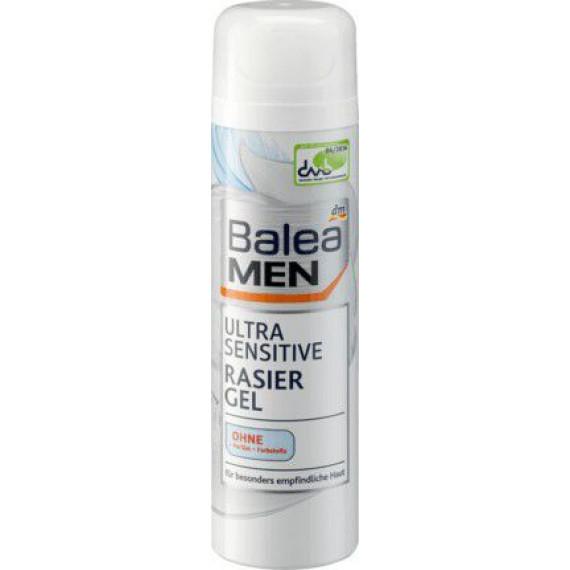 Гель для бритья ультра чувствительный Balea MEN, 200 мл (Германия) -