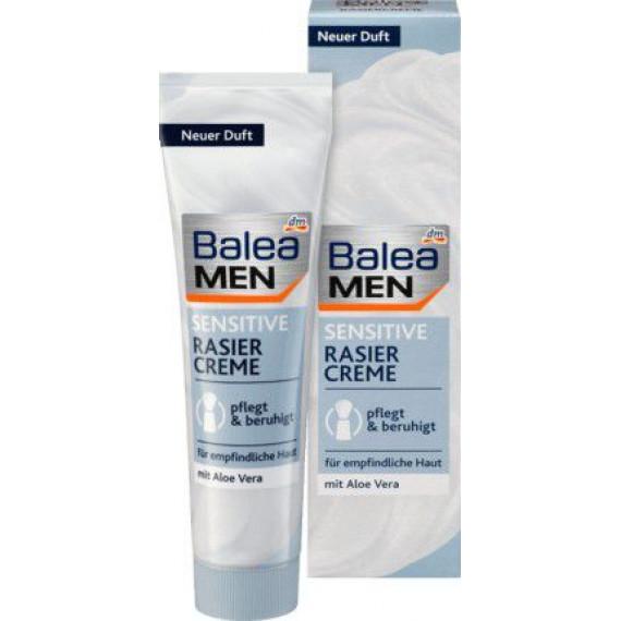 Крем для бритья для чувствительной кожи Balea MEN, 100 мл. (Германия) -