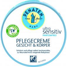 Питательный крем ультра чувствительный для лица и тела Penaten, 100 мл (Германия)
