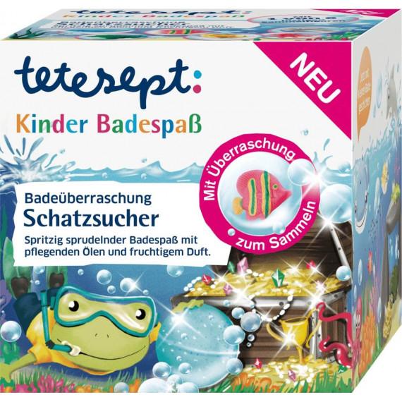 Добавка в ванну Мисливець за скарбами tetesept, 140 g (Німеччина) -