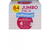 Премиум подгузники babylove 4 макси 7-18kg, Джамбо упаковка 2x42 шт, 84 St (Германия)