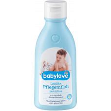 Детское молочко для ухода Чувствительное babylove, 250 мл. (Германия)