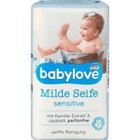 Мягкое детское мыло чувствительное babylove, 100 g (Германия)