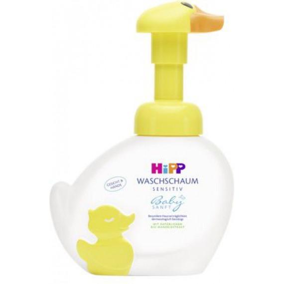Детское мыло пена утка Hipp Babysanft, 250 мл. (Германия) -