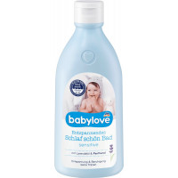 Дитяча піна для ванни Спокійний сон чутлива babylove, 0,5 л. (Німеччина)