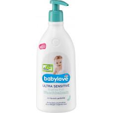 Ультрачувствительный бальзам для мытья с головы до ног babylove, 500 мл (Германия)
