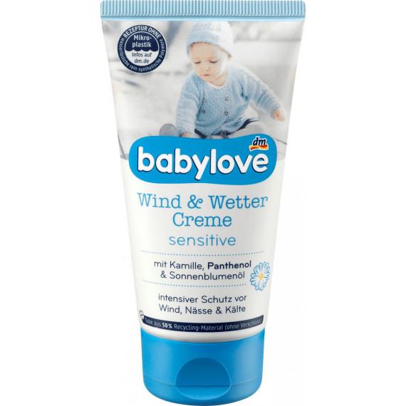 Дитячий крем від вітру та погодніх умов babylove, 75 мл. (Німеччина) -