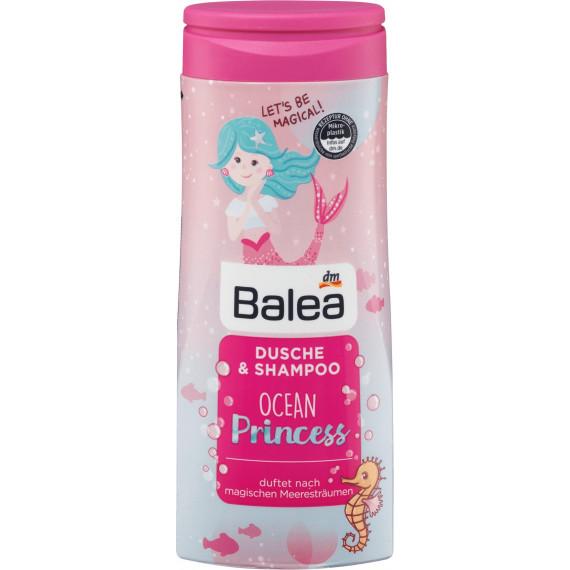 Детский душ и шампунь Принцесса Океана Balea 300 мл (Германия) -