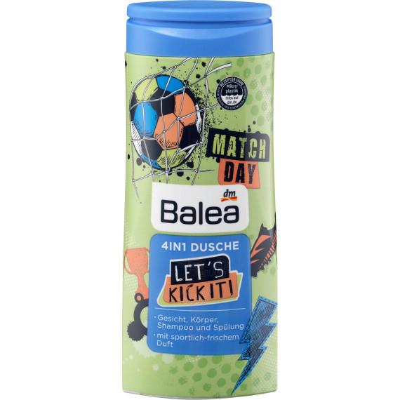 Душ 4in1 Let's kick it! Balea, 300 ml (Німеччина) -