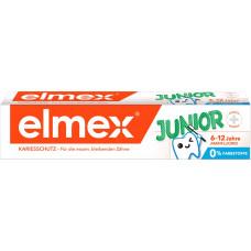 Зубная паста от 6 до 12 лет elmex, 75мл (Германия)